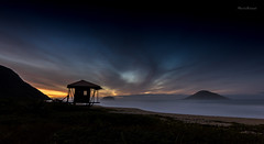 Sunrise in Grumari - Rio de Janeiro (mariohowat) Tags: brazil brasil riodejaneiro sunrise natureza alvorada amanhecer grumari noturnas longaexposio nascerdosol praiadegrumari rio2016 praiasdoriodejaneiro