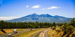 Humphreys Peak 3850m (Joerg1975) Tags: travel arizona usa mountains america landscape unitedstates desert sony unitedstatesofamerica berge northamerica monte alpha amerika landschaft  mont f28 wste reise estadosunidos   tatsunis   nordamerika a350     sonydslra350