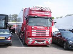 S2NUK (peeler2007) Tags: truck artic scania hgv lgv 164l scania164l solutionsracing s2nuk n600eyd