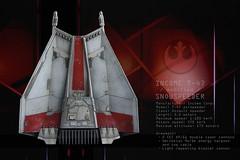 Snowspeeder - bottom (Dark-Alamez) Tags: starwars hoth snowspeeder income scalemodel space spaceship starfigter empire rebels t47