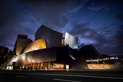 Moody Concert Hall (jaysonoertel) Tags: building architecture clouds mood gehry disney frankgehry waltdisneyconcerthall