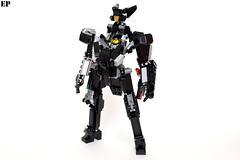 "VVCS A-01B ""Shrike II"" Mass-Produced Variable System (ExclusivelyPlastic) Tags: design robot lego transformer military figure scifi mecha mech variable"