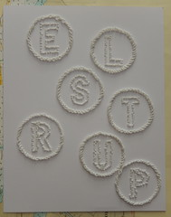 (Landanna) Tags: paperart embroidery paperwork borduren frenchknots broderi bullionknot embroideryonpaper bordurenoppapier broderippapir