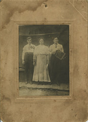 three in St. Louis w/concertina (mkvirg) Tags: unitedstates stlouis missouri concertina 1900s