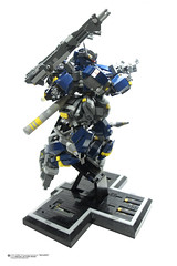 AMS FS88 Fuhrungsmachine Balrog Part 1 series (Benjamin Cheh) Tags: robot lego mecha moc