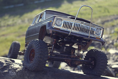 1970-s J-20_49 (My Scale Passion) Tags: old mountain scale truck vintage rocks jeep modeling body wide double retro climbing custom build scratch crawling rc wraith j20 crawler lifted styrene axial tekin scx10 myscalepassion
