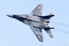 Mig-29 Solo Display (testdummy76) Tags: berlin plane canon fighter aircraft jet ila flugzeug mig29 2016 jger