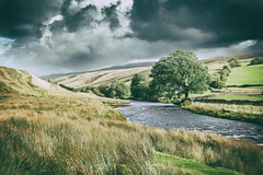 There's a storm a-coming (MacBeales) Tags: wild sky lake storm weather river dark threatening district cumbria cautely