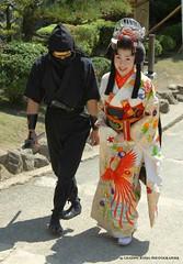 Geisha (http://russogiuseppefotoeviaggi.wordpress.com/) Tags: castle japan asia geisha homeji