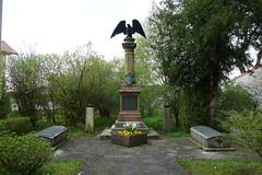 2016 Kunigundenweg/Scheinfeld War Memorial (*Tom68*) Tags: germany bayern deutschland bavaria outdoor franconia franken warmemorial wandern mittelfranken pilgerweg kriegerdenkmal pilgern kunigundenweg