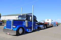 JDT (66) (RyanP77) Tags: jdt james davis trucking oregon pete peterbilt low rider 379 lumber hauler rig big semi truck colorful rigs semis tractor trailer