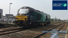DIRECT RAIL SERVICES 68017 SWINDON 28052016 (MATT WILLIS VIDEO PRODUCTIONS) Tags: swindon rail services direct 68017 28052016