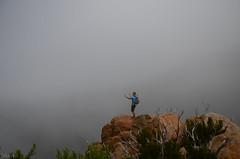 He subido tan alto....y slo hay niebla (inma F) Tags: amigos gente paisaje vista montaa teno niebla erjos