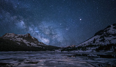 Remnants of Winter (Night Scapes) Tags: nightphotography nightscape nightsky milkyway tioga laketioga steverengers