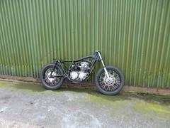 IMG-20160605-WA0003 (digyourownhole) Tags: vintage honda motorcycle restoration caferacer cb550 bratt buildnotbought