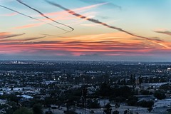LBC Set (ATOM1_Productions) Tags: california city pink sunset urban beach landscape losangeles long cityscape socal oil hdr cloudscape lbc oilwell blackgold longo sonya7ii