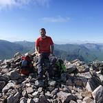 Stob Dearg Summit - Marc thumbnail