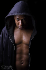 A Look (Triscele Photography) Tags: man black out ma hoodie iron background massachusetts chest working rodrigo fitness abs weight lifting pumping lok leominster crossfit muscels