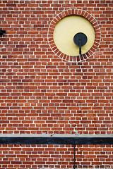 (JarHTC) Tags: brick wall circle pattern fujifilm xe2