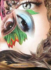 ENTRE DU PARADIS (KOHLI MICHEL) Tags: art fleur collage arte flor entrada paradis entre paraso artkohli