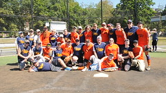 Barnstormers Trailblazers (Beantown Softball League (Patrick Lentz)) Tags: gay sports boston softball athletes bsl jocks beantownsoftballleague beantownsoftball patricklentzphotography straightallies