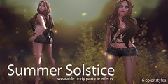Summer Solstice (colemariesoleil) Tags: summer fashion corner shopping effects lights cosmopolitan special sl event solstice secondlife cosmic particles coles fireflies
