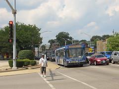 20150725 25 Pace Bus, Harlem Ave. @ Madison St (davidwilson1949) Tags: bus illinois transit pace forestpark