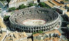 Ancient Rome. Roman Amphitheatre of Nmes (Arnes de Nmes), Gaul (nowadays France) (mike catalonian) Tags: france amphitheater nimes ancientrome gaul arenes