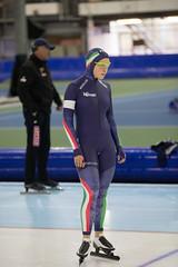 A37W0407 (rieshug 1) Tags: ladies sport skating worldcup groningen isu dames schaatsen speedskating kardinge 1000m eisschnelllauf juniorworldcup knsb sportcentrumkardinge worldcupjunioren kardingeicestadium sportstadiumkardinge