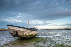 Low Tide (@richlewis) Tags: christchurch landscape boat harbour dorset lowtide mudeford fujifilmxt1 fujinonxf16mmf14rwr