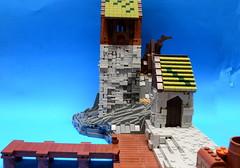 NoFig//Side view 2 (CeiCrownieGuy) Tags: ocean docks lego no lor figs lenfald crakenhaven