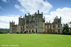 Sherborne House (Holfo) Tags: dorset sherbornecastle statleyhome sirwalterraleigh castle nikon d5300 turrets house elizabethan outdoor building manor countryhouse architecture
