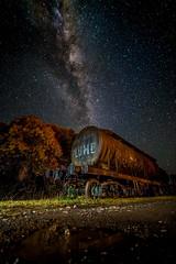 Vacuum Plume (Daniel J Murphy) Tags: pentax k1 australia coffsharbour night astrophotography lightpainting longexposure milkyway