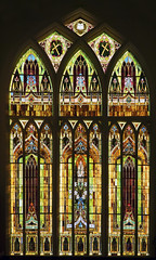 Stained Glass windows (wplynn) Tags: windows church window glass downtown united indiana stained trinity methodist evansville in