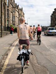 World Naked Bike Ride 2016-143 (KirkmouseMedia) Tags: bicycle edinburgh wnbr cycling