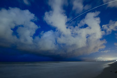 Stars and Clouds at Cocoa Beach (Savage Land Pictures) Tags: night stars cocoa beach ocean