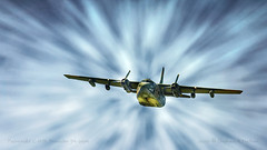 Out of the Blue (SteveMather) Tags: military transport low flyby flyover nikon d7100 dxo opticspro 2016 wingsnwheels sloas airfield youngstownwarren yng warren ohio topaz clean anthropics smartphotoeditor spe 54664 radial thunderpig