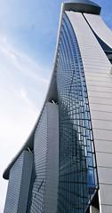 Marina Bay Sands (cagriozmen) Tags: marina marinabay marinabaysands architecture skyscraper singapore cityscape glass sky