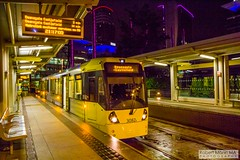 MediaCityUK2016.08.20-28 (Robert Mann MA Photography) Tags: salford quays mediacityuk manchester greatermanchester manchestercitycentre city citycentre architecture cities summer 2016 saturday 20thaugust2016 manchestermetrolink metrolink tram trams night nightscape nightscapes