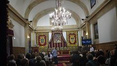 Universidad de Oviedo (Jusotil_1943) Tags: 20092016 oviedo aula magna tapices