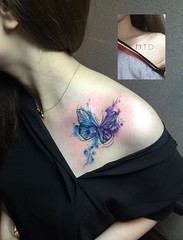 cover (ktattoo2711) Tags: tattoo tattooist tattoos xm art artist watercolor smalltattoo si gn saigon saigonese vietnam vietnamese draw drawing compass watercolortattoo sketch sketching flower dotwork linework number letter lettering quotes caligaphy cover indoor butterfly