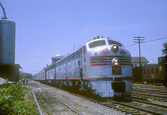 CB&Q E9 9988B (Chuck Zeiler) Tags: burlington railroad emd locomotive train chz 9988b cbq e9