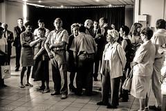 Bernadette et Jacques Chirac en Corrze le 29 mai 2005 (denis adam de villiers) Tags: scala chirac corrze actualit denisadamdevilliers noiretblanc leica leicam6 vote europe rfrendum histoire jacques limousin politique prsidentielle