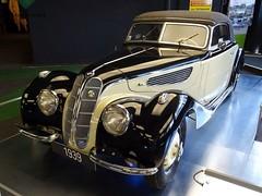bmw-11 (tz66) Tags: automobilausstellung kaiser franz josefs hhe bmw 327 prewar car
