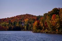 Ste-Adle - lac 1 (luco*) Tags: qubec canada laurentides sainteadle steadle couleurs automne feuillage rables lac lake flickraward flickraward5