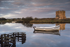 Threave Castle (.Brian Kerr Photography.) Tags: light castle sunrise reflections landscape scotland boat sony riverdee dumfriesandgalloway castledouglas threavecastle briankerrphotography