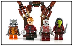Guardians of the Galaxy 76019 76020 76021 figs01 (noriart) Tags: rescue escape milano galaxy mission spaceship showdown guardians the knowhere starblaster 76020 76021 76019