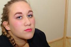 Rebecca (Luca C.83) Tags: portrait girl model rebecca indoor dim ritratti ritratto viso interno ragazza nikond3200 lucefredda modella 4400k