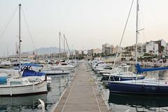 Puerto en Garrucha (TerePedro) Tags: españa barco almería velero garrucha pantalan