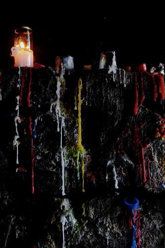 Cerro Monserrate (Vagamundos) Tags: bogotá cerro fuego velas cera monserrate